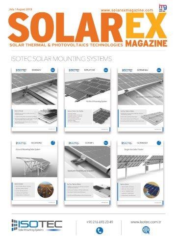 Solarex Magazine Temmuz Ağustos