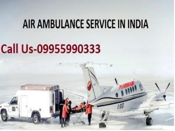 Get Best and Low-Cost Air Ambulance Service in Delhi Patna