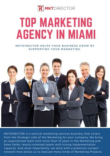 Top Marketing Agency in Miami