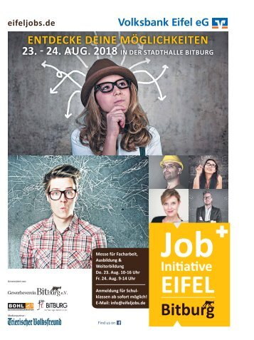 Job-Initiative EIFEL - Bitburg- 2018