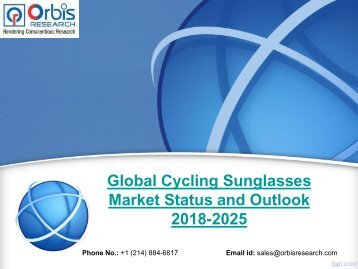 Global Cycling Sunglasses Market