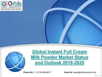 Global Instant Full Cream Milk Powder Market