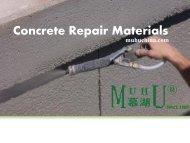 Get the Best Concrete Repair Materials