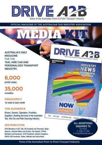 DRIVE A2B media kit 2018 web
