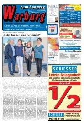 Warburg zum Sonntag 2018 KW 32
