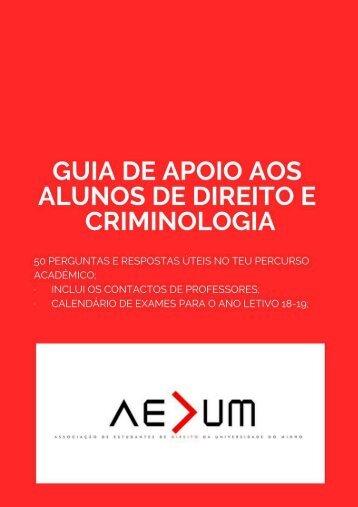 Guia de apoio AEDUM