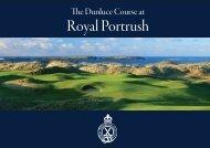Royal Portrush 2019 Open Booklet