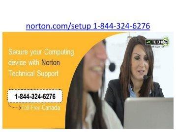 Norton.com/Setup | 1 844-324-6276 | Norton Com Setup