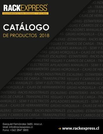 Catálogo Rackexpress 2018