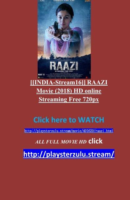 raazi movie watch online