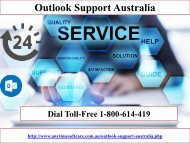 Right way| 1-800-614-419  Outlook Support Australia