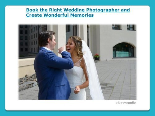 Book the Right Wedding Photographer in Calgary