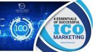 4 Essentials of Successful ICO Marketing