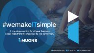 iMUONS - One Stop Solution for All your Business Needs