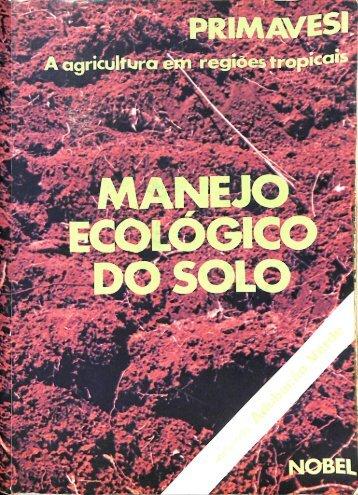 manejo ecologico do solo