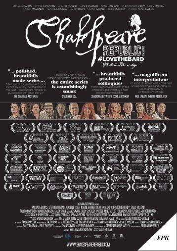 Shakespeare Republic Season Two EPK