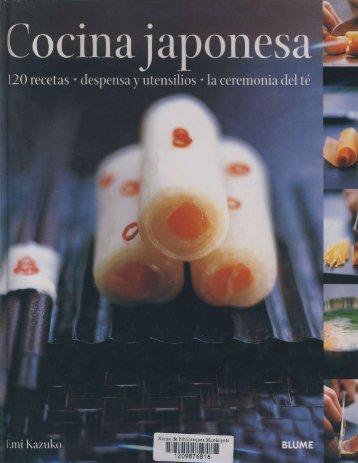 Cocina japonesa _ Emi Kazuko