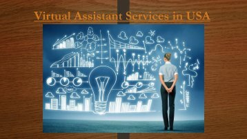 Virtual Assistant Services in USA