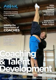 Aktive Coaching & Talent Development Issue 3