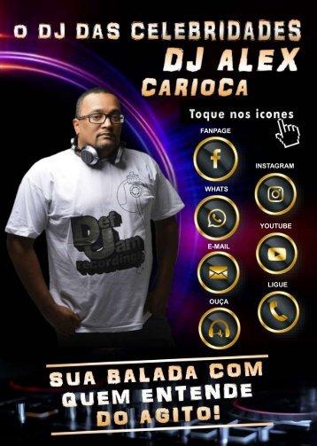 Cartão Touch DJ Alex Carioca