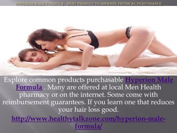 Hyperion Male Formula - Best Product To Improve