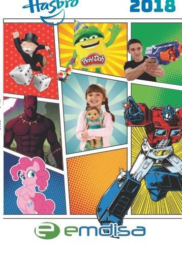 Catálogo Hasbro 2018