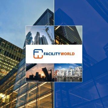 Faltblatt Facilityworld