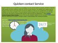 Quicken Customer service Phone Number