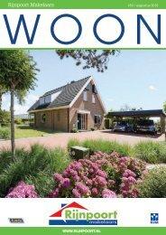 Rijnpoort Makelaars WOON magazine #50, uitgave augustus 2018