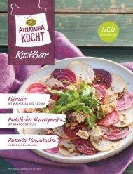 Alnatura kocht - saisonelle Rezepte aus der KostBar