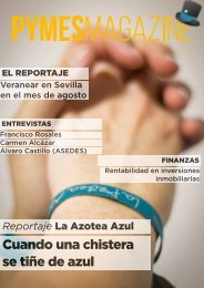 Revista nº6 agosto PYMES Magazine