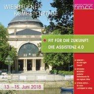 Wiesbadener Kompetenztage 2018