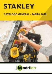 CATÁLOGO HERRAMIENTAS STANLEY 2018