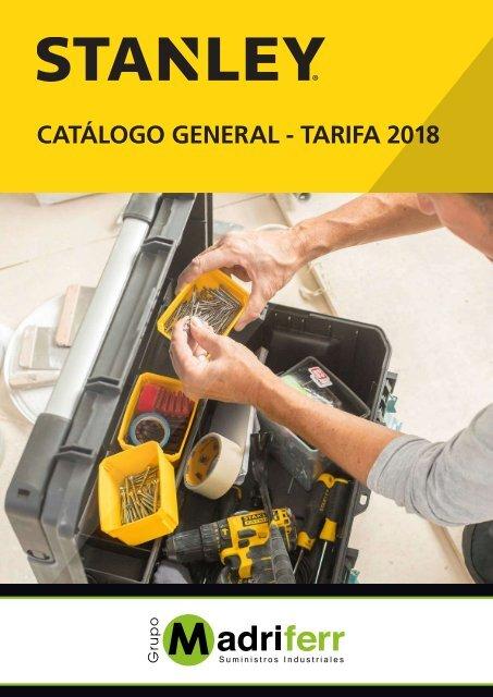 0e19e1ba9 CATÁLOGO HERRAMIENTAS STANLEY 2018