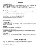 St Mary Redcliffe Church Pew leaflet - August 12 2018 - Page 5