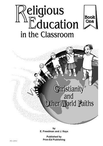 PR-2850IRE Religious Education in the Classroom - Book 1