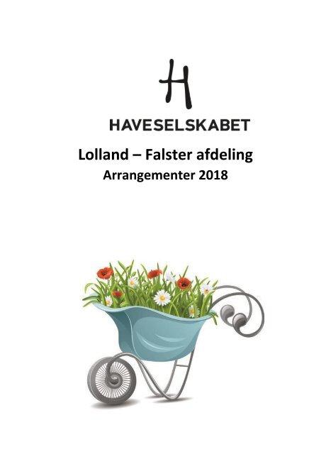 Program Haveselskabet, Lolland-Falster 2018