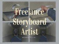 Looking For Freelance Storyboard Artist in UK?