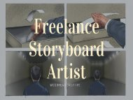Looking For Freelance Storyboard Artist in UK?