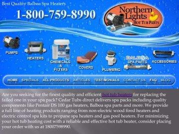 Best Quality Balboa Spa Heaters