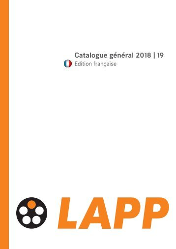 LAPPKABEL_Catalogue-general_-_2018-19_FR