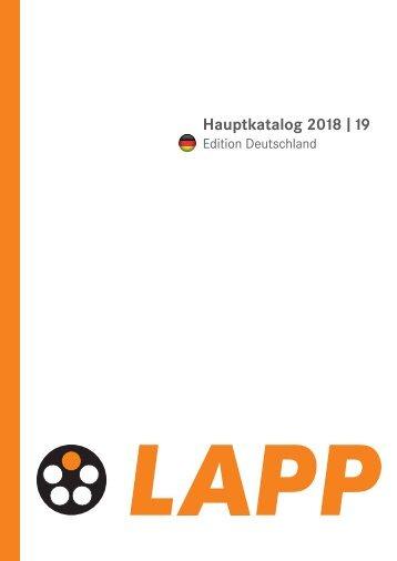 LAPPKABEL_Hauptkatalog_-_2018-19_DE