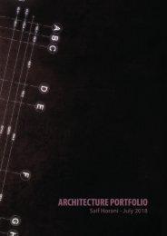 Seif Alhourani  - Architecture graduate portfolio