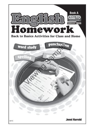 PR-6311IRE English Homework - Book A