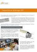 Catalogue luminaires tubulaires à LED - ACTiLED Lighting - Page 4
