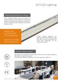 Catalogue luminaires tubulaires à LED - ACTiLED Lighting - Page 5