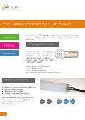 Catalogue luminaires tubulaires à LED - ACTiLED Lighting - Page 6