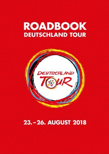 Roadbook - Deutschland Tour 2018