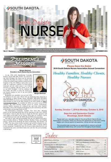 South Dakota Nurse - September 2018