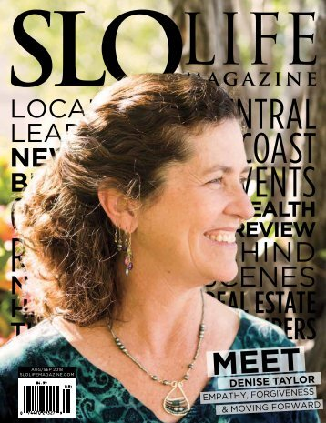 SLO LIFE Magazine Aug/Sep 2018